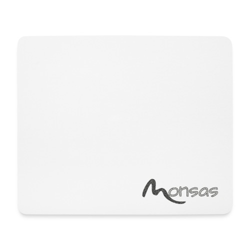 MonsasLP Fan-Shop Logo - Mousepad (Querformat)