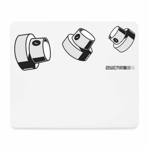 2wear caps flow ver02 √ - Mousepad (bredformat)