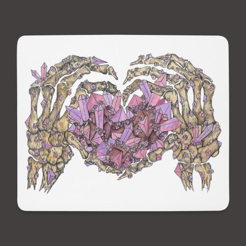 L amour Cristallin couleur - Tapis de souris (format paysage)