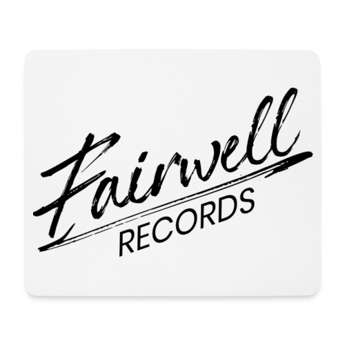 Fairwell Records - Black Collection - Mousepad (bredformat)