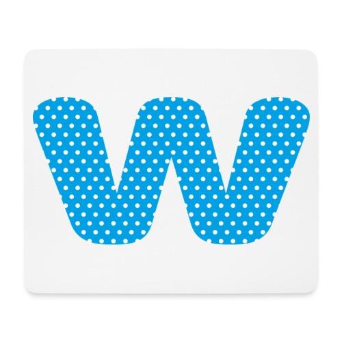 Logo kun W - Musematte (liggende format)