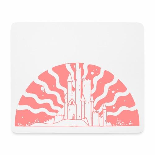 Fairytale Castle Sunrise - Mousepad (Querformat)