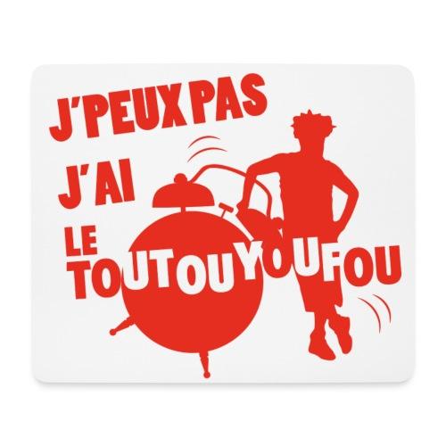 JPEUXPAS ROUGE - Tapis de souris (format paysage)