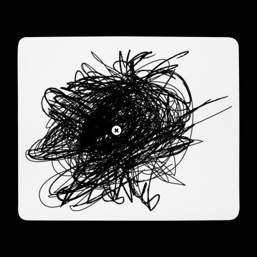 Ces idées noires - Tapis de souris (format paysage)
