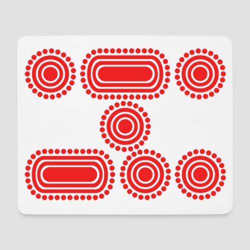 CODE RED - Mouse Pad (horizontal)