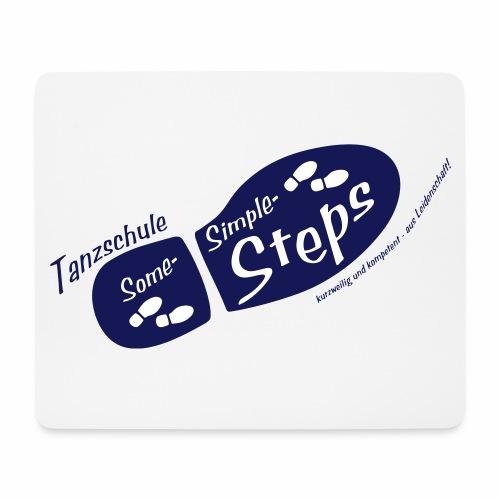 logo kurzwkomp blau - Mousepad (Querformat)