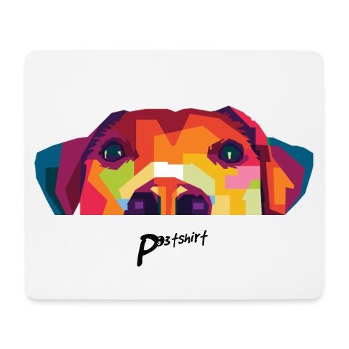 Hunde WPAP Design - Mousepad (Querformat)