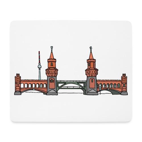 Oberbaumbrücke BERLIN - Mousepad (Querformat)