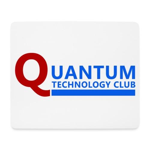 Quantum Tech Club Logo - Mouse Pad (horizontal)