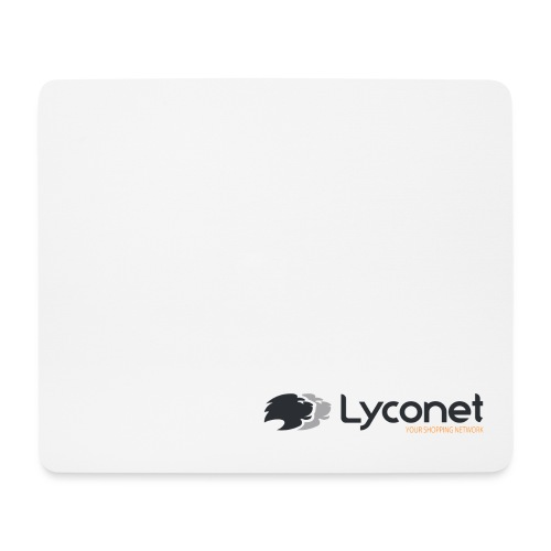 Lyconet White - Tappetino per mouse (orizzontale)