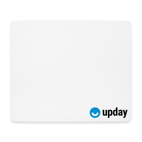 upday Logo blau - Mouse Pad (horizontal)