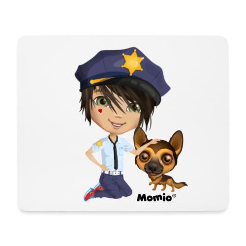 Jack and Dog - autorstwa Momio Designer Cat9999 - Podkładka pod myszkę (orientacja pozioma)