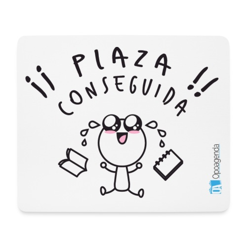 Plaza conseguida - Alfombrilla de ratón (horizontal)
