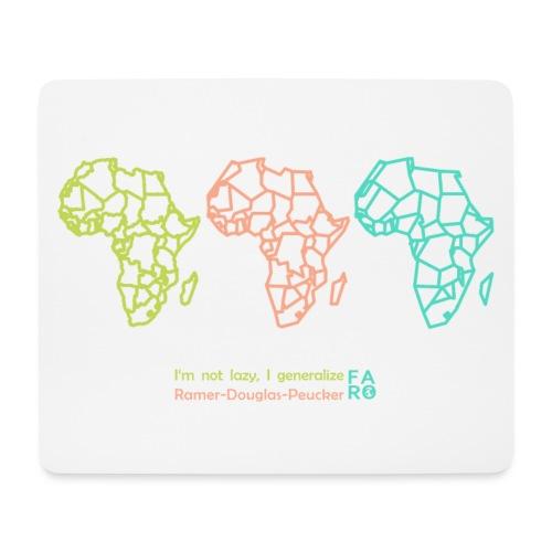 Ramer-Douglas-Peucker Algorithm -Africa - Mouse Pad (horizontal)