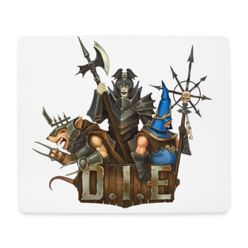 THE logo - Evil Characters - Mouse Pad (horizontal)