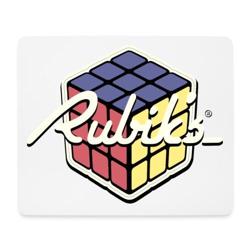 Rubik's Cube Retro Style - Mouse Pad (horizontal)