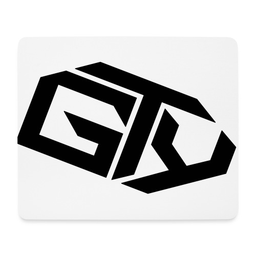 GTY_Logo_solo_weiß_Pfade( - Mousepad (Querformat)