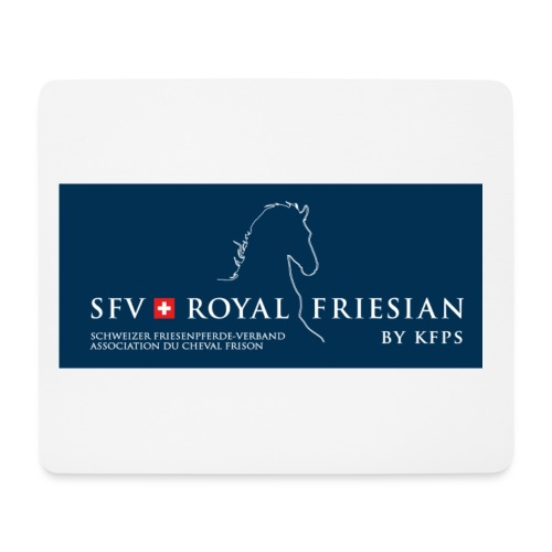 SFV Royal Friesian BLUE - Mousepad (Querformat)