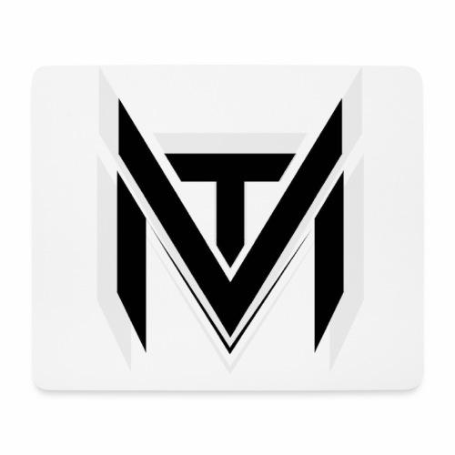 MadVexTV Logo Schwarz - Mousepad (Querformat)