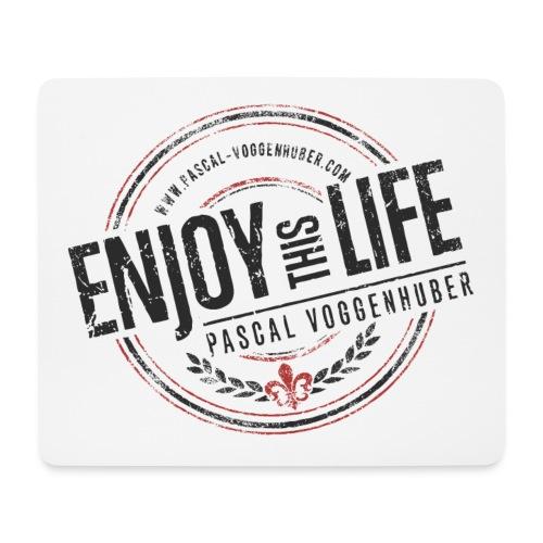Enjoy this Life® & Fleur de Lys Pascal Voggenhuber - Mousepad (Querformat)