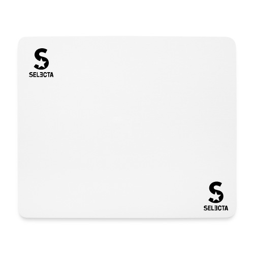 Selecta Logo Black1 - Mousepad (Querformat)