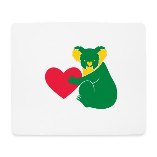 Koala Heart - Mouse Pad (horizontal)