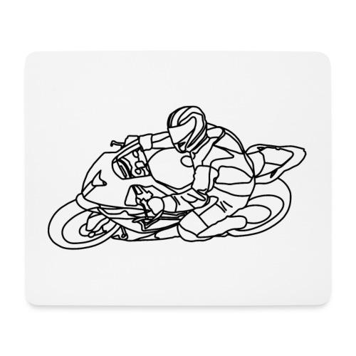Rennfahrer IV - Mousepad (Querformat)