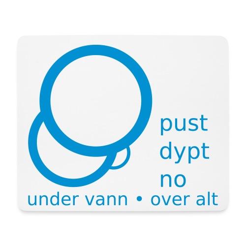 Pust Dypt logo - Musematte (liggende format)