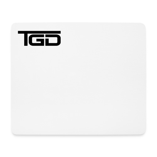 TGD Logo full - Mousepad (Querformat)