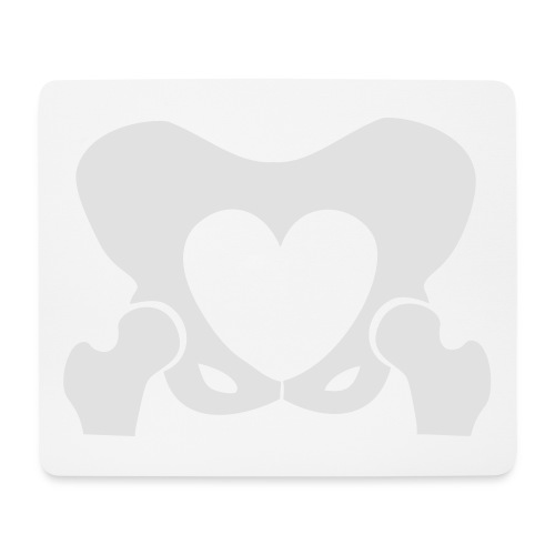 Love Your Hips Logo - Mouse Pad (horizontal)