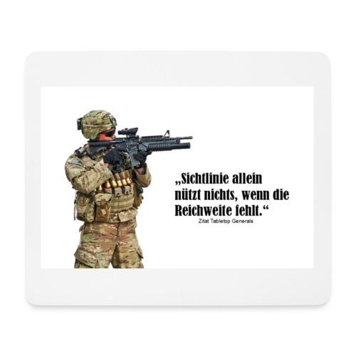 Mousepad Soldat - Mousepad (Querformat)