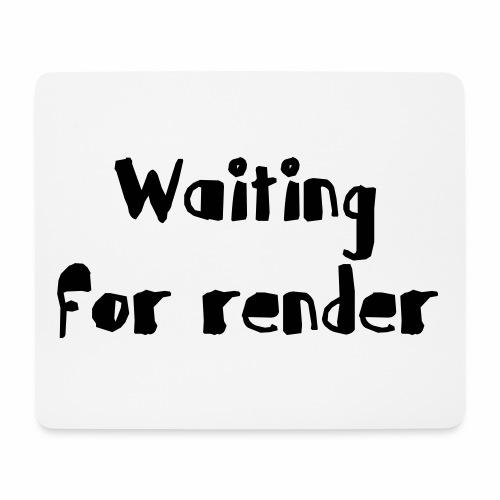 RENDER - Alfombrilla de ratón (horizontal)