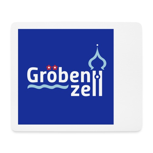 Groebenzell-Logo_3c-auf-W - Mousepad (Querformat)