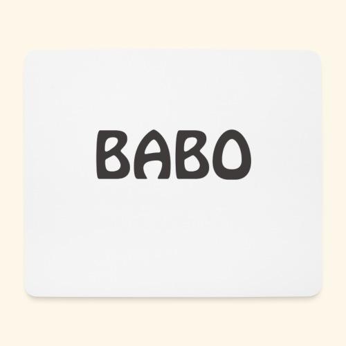 Babo - Mousepad (Querformat)