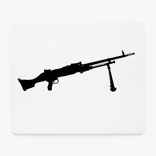 Machine Gun - Kulspruta 58B - FN MAG M240 - Musmatta (liggande format)
