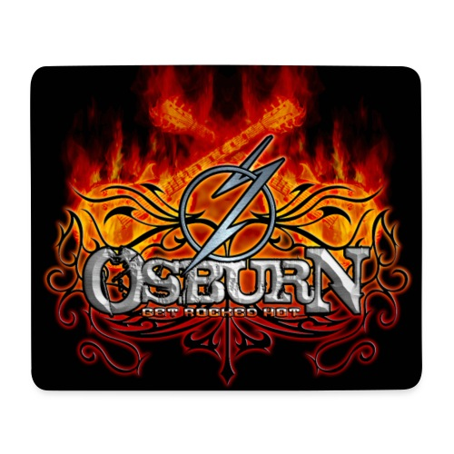 Osburn Logo finish 02 05 2014 bearbeitet jpg - Mousepad (Querformat)
