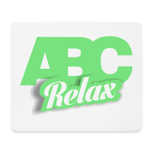 abc carré logo - Mouse Pad (horizontal)