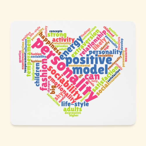 Positive Personality Model - Mouse Pad (horizontal)