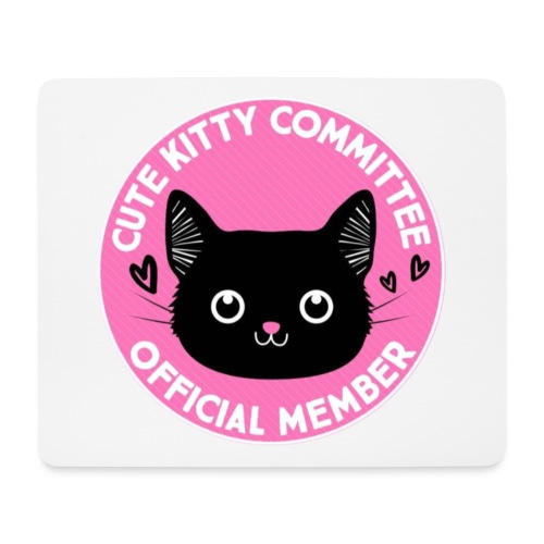Kitty Committee - Mouse Pad (horizontal)