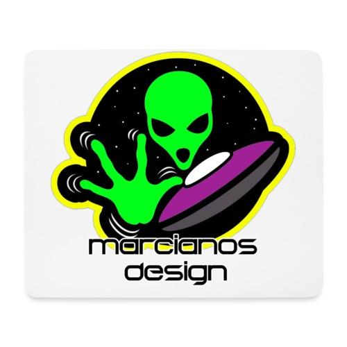 Accesorios Logo Marcianos Design - Alfombrilla de ratón (horizontal)