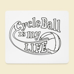 Radball | Cycle Ball is my Life - Mousepad (Querformat)
