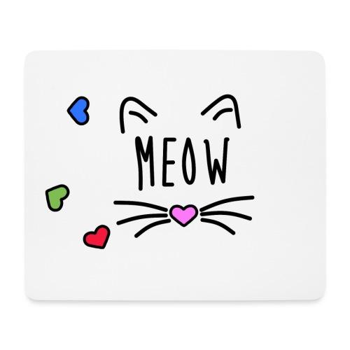 Meow - Alfombrilla de ratón (horizontal)