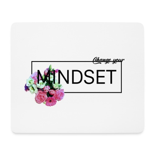 Change Your Mindset Flower Power - Mousepad (Querformat)