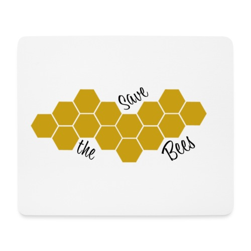 SAVE THE BEES! - Mousepad (Querformat)