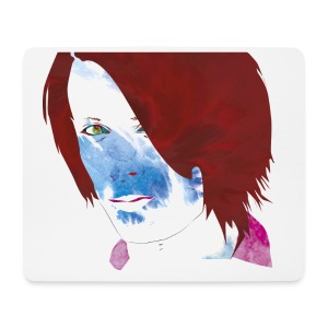The man from Another galaxy - Mouse Pad (horizontal)