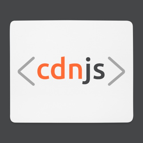 cdnjs Dark Logo (Accessories) - Mouse Pad (horizontal)