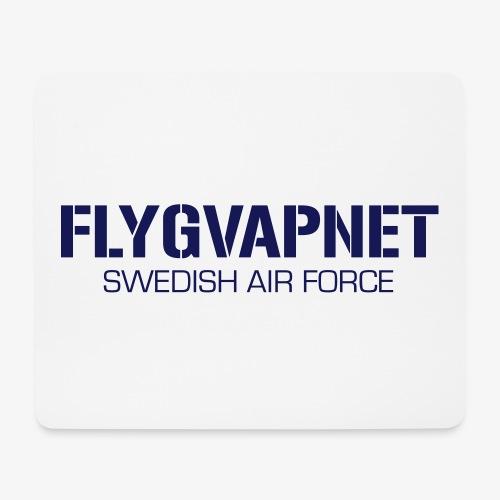 FLYGVAPNET - SWEDISH AIR FORCE - Musmatta (liggande format)