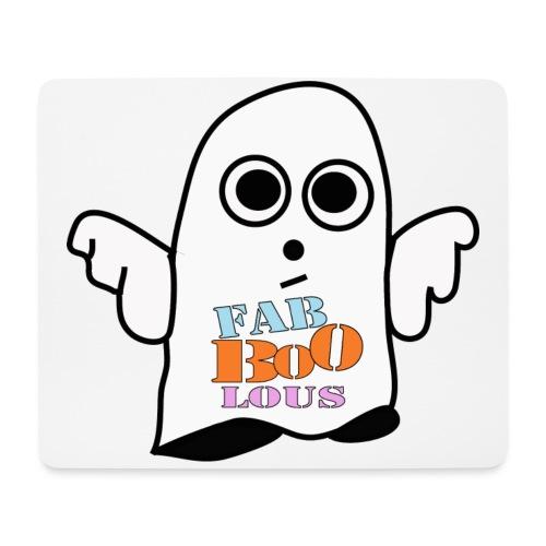 Halloween Geist BOO - Mousepad (Querformat)