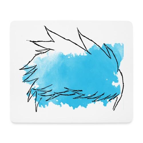 Blue Splat Original - Mouse Pad (horizontal)