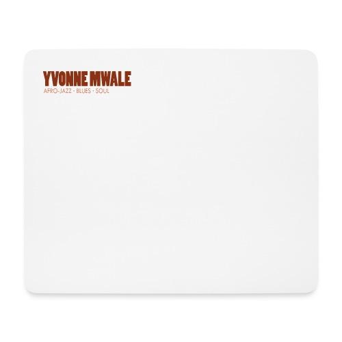 Logo_YvonneMwale_large - Mousepad (Querformat)